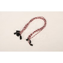 Twisted 45CM Servo Lead Extention (Futaba) 22AWG (5pcs/bag)