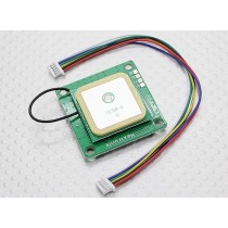 UBLOX LEA-6H GPS Module w/Built-in Antenna 2.5m Accuracy