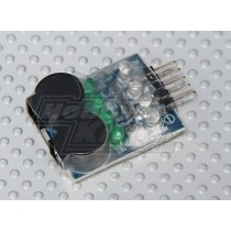 On Board Lipoly Low Voltage Alarm (2s~4s)