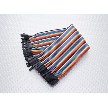 Arduino Female-Female 40P 200mm Wire Jumper Cable
