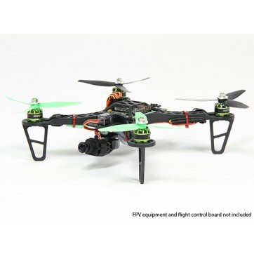 HobbyKing Spec FPV250 V2 Quad Copter ARF Combo Kit - Mini Sized FPV Multi-Rotor (ARF)