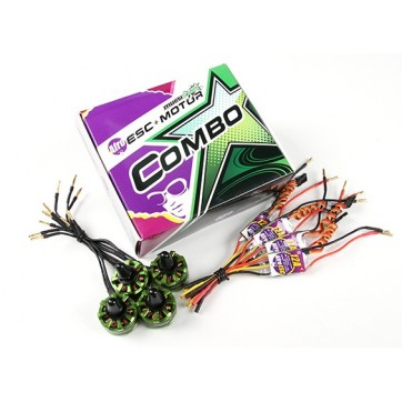 MultiStar & Afro Combo Pack - 2206 Baby Beast Motor and 12A Afro ESC Set of 4 CW/CCW