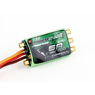 Turnigy Multistar 6A V2 ESC With BLHeli and LBEC 2-3S