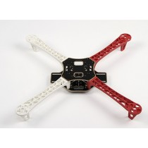 Z450 FlameWheel without circuit board Red and white