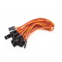 20CM Male to Male Servo Lead (JR) 26AWG(1 Pcs)