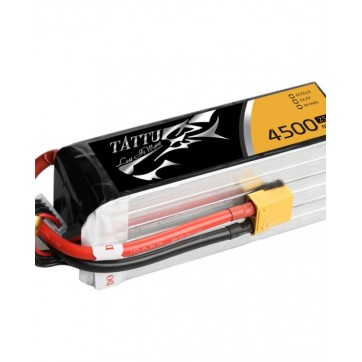 Tattu 4500mAh 22.2V 25C ~ 50C 6S1P Lipo Battery Pack