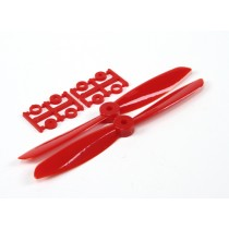 6045 Electric Propellers (CW and CCW) Red 1 pair/bag