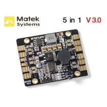 Matek PDB BEC-5V/3A LED Lighting Control Tracker Low Voltage Alarm LED & POWER HUB 5 in 1 V3.0