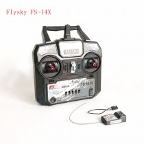 Flysky FS-i4X 2.4G 4ch RC Transmitter  with FS-A6 Receiver (Mode 2) AFHDS 2A