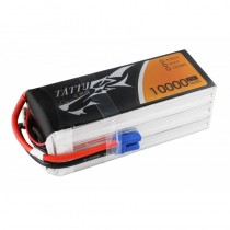 Tattu 10000mAh 6S 25C 22.2V Lipo Battery Pack with AS150 plug