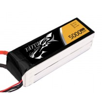 TATTU 5000mah 4S1P 14.8V 35C Lipo battery pack with XT60 connector
