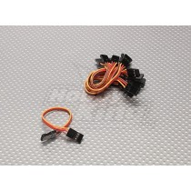 10CM Male to Male Servo Lead (JR) 26AWG(1 Pcs)