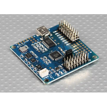 MultiWii 328P Flight Controller w/FTDI / DSM2 Port
