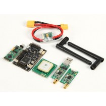 HKPilot Mega 2.5.2 Master Set With OSD, LEA-6H GPS, Power module, Telemetry Radio (433Mhz) (XT-60)